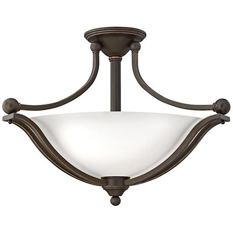 "Hinkley Bolla 23 1/4"" Wide Olde Bronze Ceiling Light"