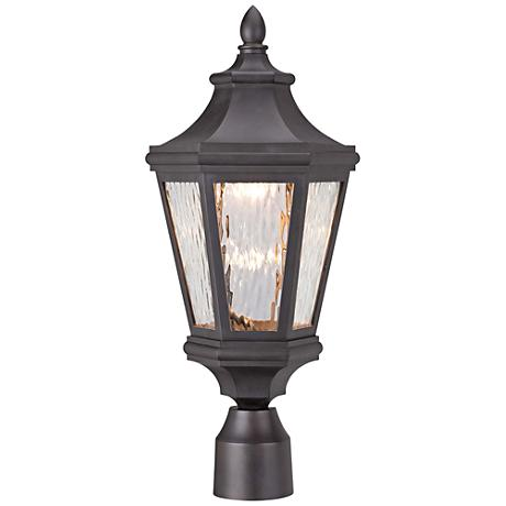 "Handforde Pointe LED 20 1/4""H Bronze Outdoor Post Light"