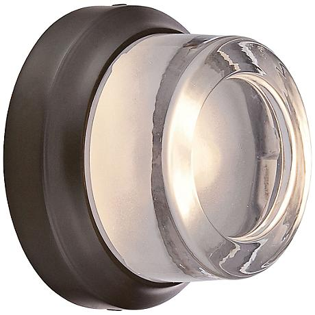 "George Kovacs Comet 5"" High Bronze LED Outdoor Wall Light"