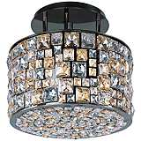 "Maxim Fifth Avenue 16"" Wide Luster Bronze Ceiling Light"