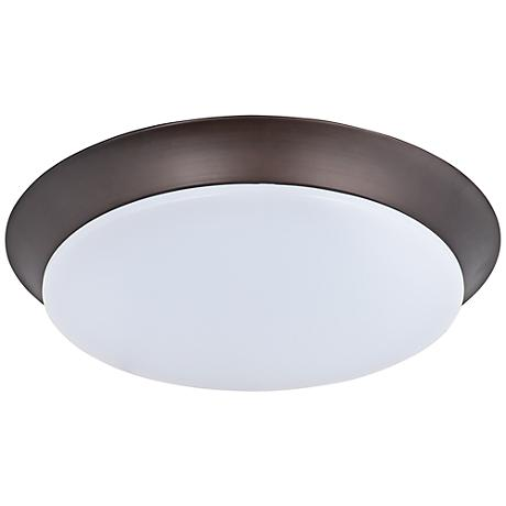 "Maxim Profile 11 3/4""W Bronze Round LED Ceiling Light"