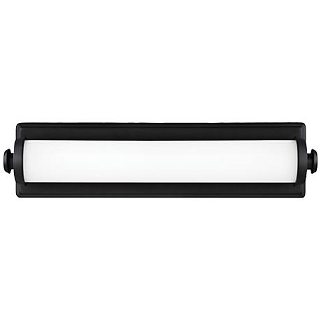 "Feiss Edgebrook 18"" Wide Oil Rubbed Bronze LED Bath Light"