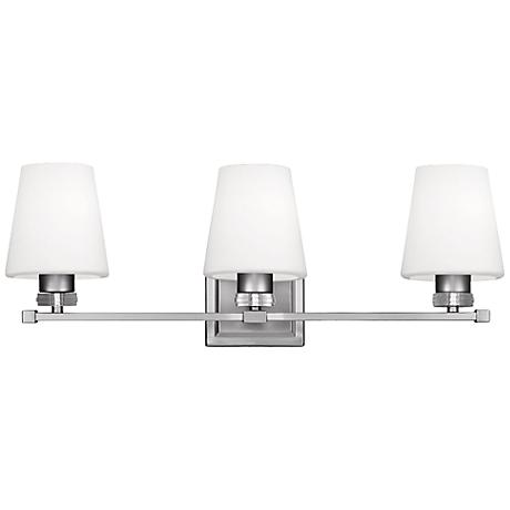"Feiss Rouen 23 3/4"" Wide Satin Nickel Bath Light"