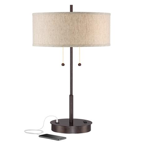 Table Lamp Usb Port Best Inspiration For Table Lamp