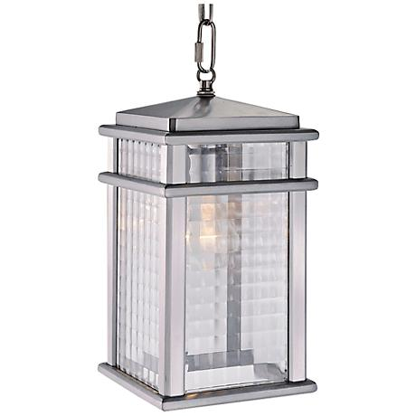 "Mission Lodge 13 1/2"" High Outdoor LED Hanging Light"