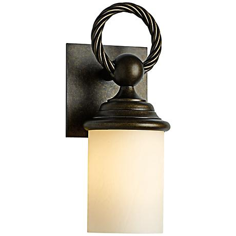 "Cavo 12 1/2"" High Bronze Outdoor Wall Light"