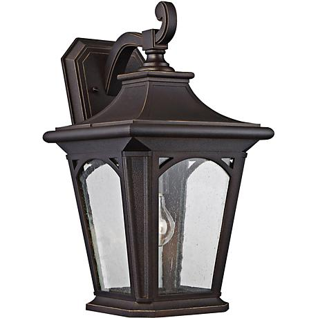 "Bedford 18 1/4"" High Palladian Bronze Outdoor Wall Light"