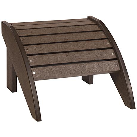 Generations Chocolate Outdoor Adirondack Ottoman