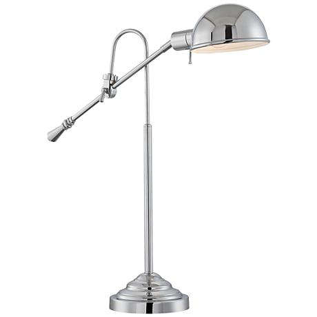 Lite Source Tadeo Chrome Pharmacy Desk Lamp