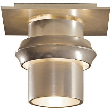 "Hubbardton Forge Twilight 6"" Wide Soft Gold Ceiling Light"