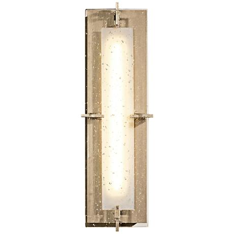"Hubbardton Forge Ethos 18 1/4""H LED Soft Gold Wall Sconce"