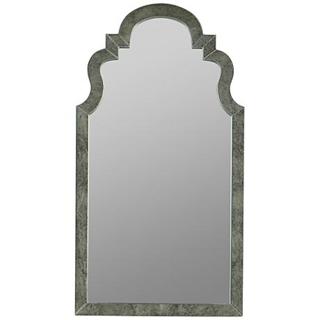 "Wellington Antique Glass 26""x48"" Decorative Wall Mirror"
