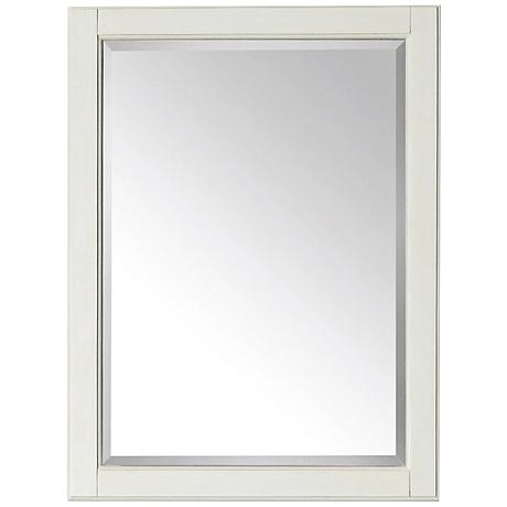 "Avanity Hamilton French White 24""x32"" Vanity Mirror"