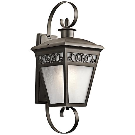 "Kichler Park Row 30"" High Olde Bronze Outdoor Wall Light"