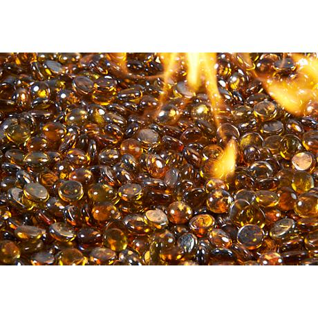 Amber Fire Gems Crystal Fire Pit Media 5 Lb. Pack