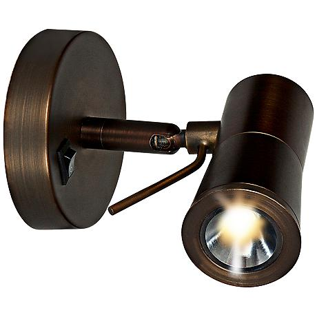 Adjustable Wall Sconce Plug In : Cyprus II Bronze Adjustable 4 3/4