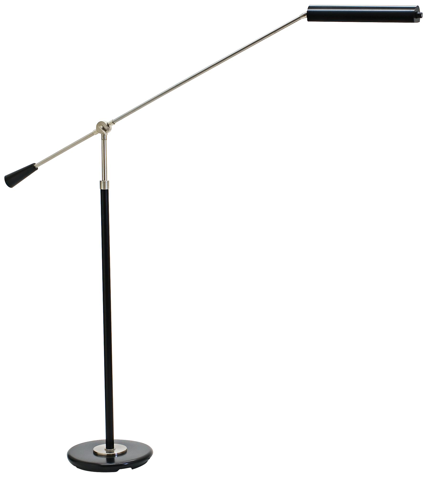 House of Troy Satin Nickel Grand Piano LED Floor Lamp (8Y519)