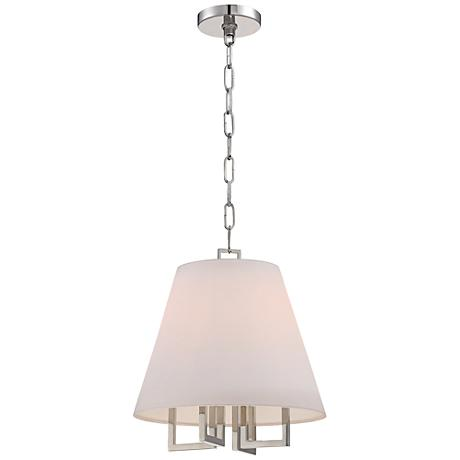 "Westwood Collection 13 1/2"" Wide Pendant Shade Chandelier"