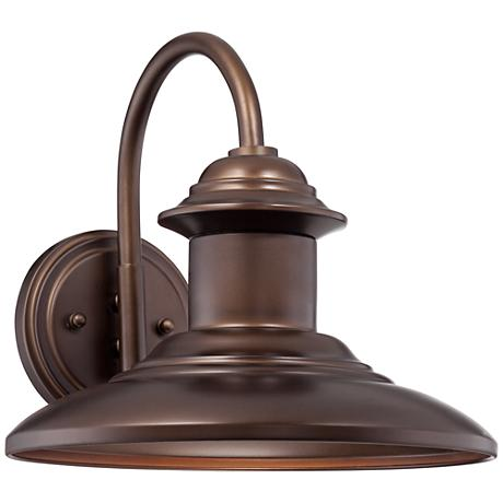 "Dunshult 11"" High Oil-Rubbed Bronze Outdoor Wall Light"
