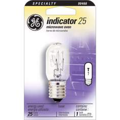 GE 25 Watt T-8 Microwave Oven Light Bulb
