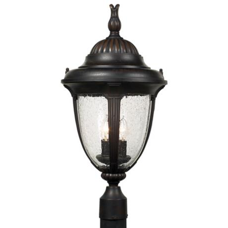 "Casa Sierra™ Collection 24 1/2"" High Bronze Post Mount"