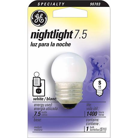 GE 7.5  Watt Night Light Bulb