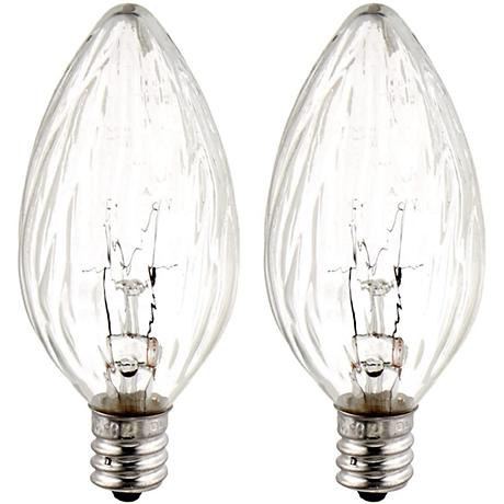 GE 15 Watt 2-Pack Candelabra Light Bulb