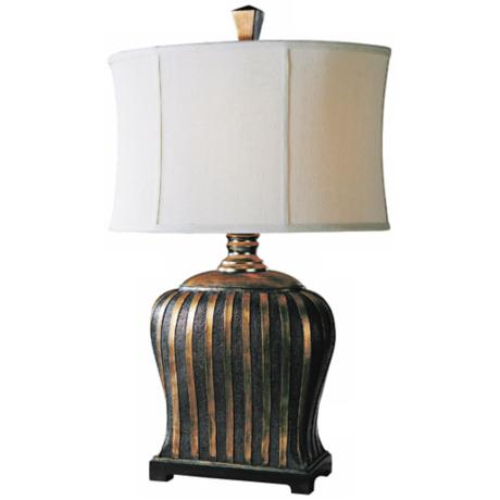 Carolyn Kinder Grande Linear Pattern Table Lamp