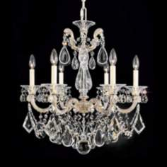 "Schonbek La Scala Collection 23"" Wide Crystal Chandelier"