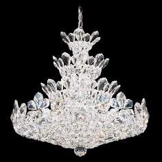 "Schonbek Trilliane Collection 24"" Wide Crystal Chandelier"