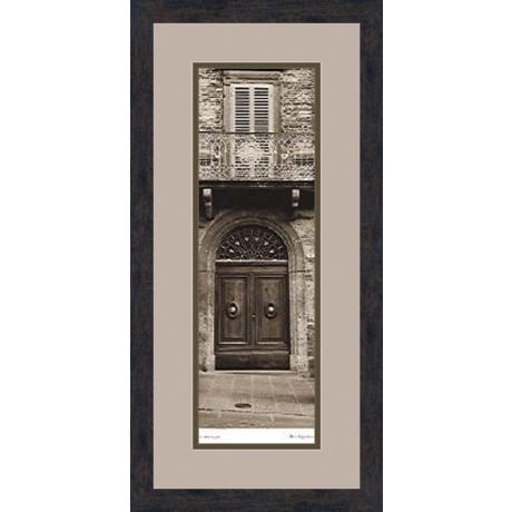 "La Porta Via A 28 1/2"" High Wall Art"