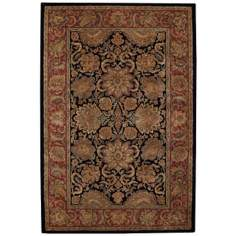 Herbas Royal Blue Area Rug