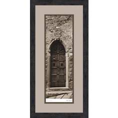 "La Porta Via B 28 1/2"" High Wall Art"