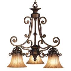 Kichler Three Light Cottage Grove Chandelier