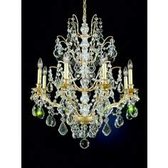 Schonbek Gallia Gold Legacy Crystal Chandelier
