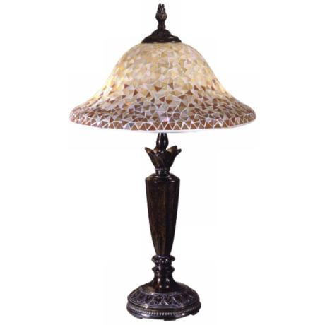 Dale Tiffany Mosaic Series Table Lamp