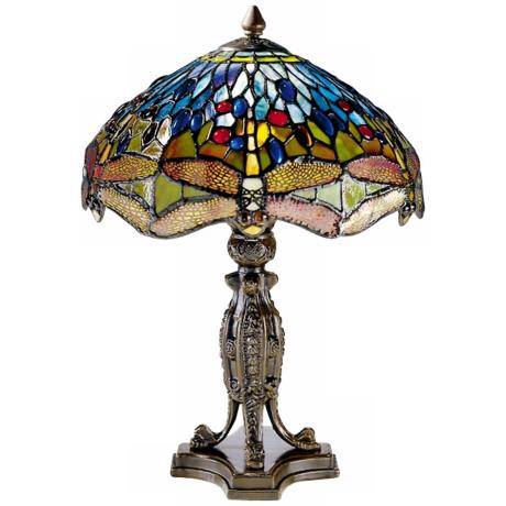 Dale Tiffany Museum Collection Dragonfly Table Lamp