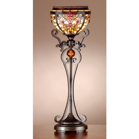 Dale Tiffany Boheme Tiffany Table Lamp Torchiere