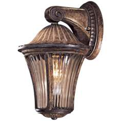 "Amarante Gold 13 1/2"" High Outdoor Wall Light"