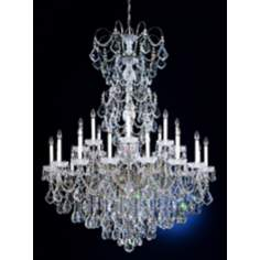 "Schonbek New Orleans Collection 48"" Crystal Chandelier"