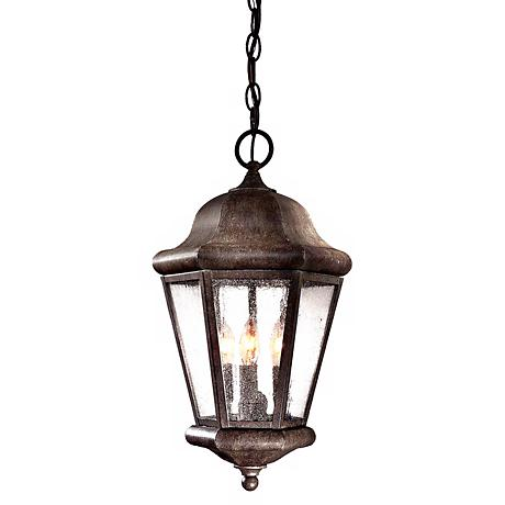 "Taylor Court Collection 18 3/4"" High Outdoor Hanging Lantern"