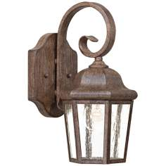 "Taylor Court Collection 12 3/4"" High Outdoor Wall Light"