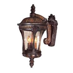 "Kent Place Collection 20 1/4"" High Outdoor Wall Light"