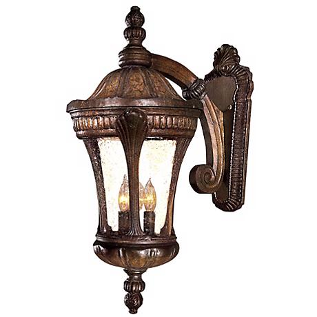 "Kent Place Collection 23 1/4"" High Outdoor Wall Light"