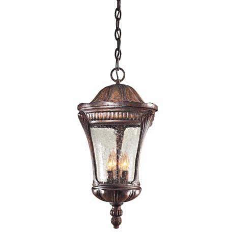 "Kent  Place Collection 21 3/4""High Outdoor Hanging Lantern"