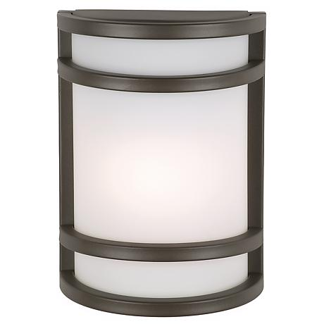 "Bay View Collection Bronze 9 1/2"" High Outdoor Wall Light"