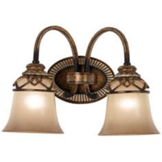 "Aston Court Collection 14 1/2"" Wide Bathroom Wall Light"