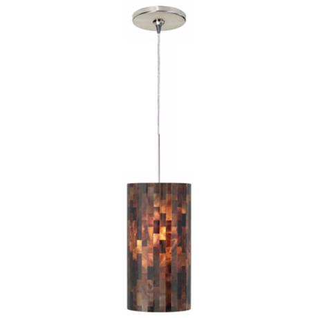 Playa Brown Tech Lighting Mini Pendant Light