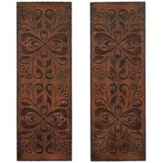 Uttermost Alexia Set of 2 Wall Art Panels
