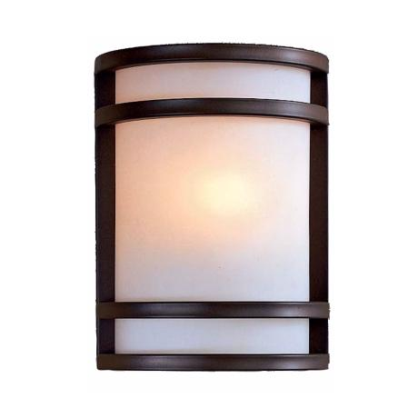 "Bay View Bronze 9 1/2"" High Outdoor Light"